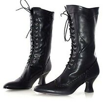 Ellie Shoes Women''s 253 Amelia Victorian Boot, Black Polyurethane, 7 M US