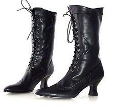 Ellie Shoes Women''s 253 Amelia Victorian Boot, Black Polyurethane, 7 M US