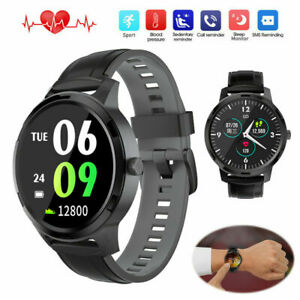 Men Boys Smart Watch Fitness Activity Tracker Sport Wristband for iOS Android