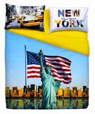 """Copripiumino copripiumone  Bassetti Imagine """"American Dream"""" New York"""
