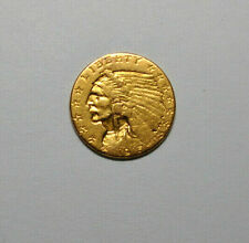 1915 GOLD COIN US $2 1/2  DOLLAR INDIAN HEAD QUARTER EAGLE PHILADELPHIA MINT