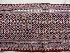 VINTAGE BEAUTIFUL Silk on Silk Loom Woven Brocade from LAOS