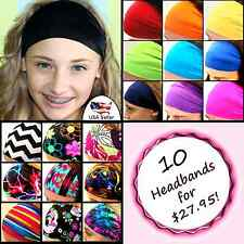No Slip Headband Running Headband Yoga Headband Workout Headband Spandex