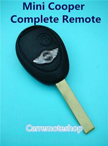 BMW MINI COOPER COMPLETE REMOTE KEY FOR MINI R50 R53 S