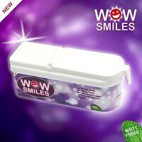 WOW SMILES Teeth Whitening Brightening Powder Mint Flavour 6 Months Supply 40g
