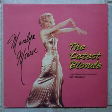 """Marilyn Monroe – The Latest Blonde Music from the soundtrack """"Let's Make Love"""""""