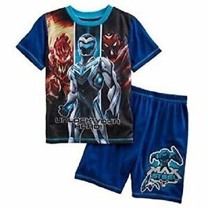 Max Steel Boy Miles Dread Boy's Pajama Shorts Set