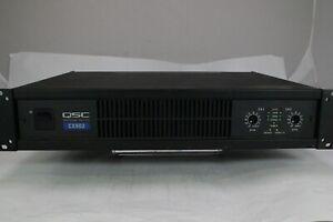 QSC CX902 Amplifier - 120 V / 50/60 HZ C Grade