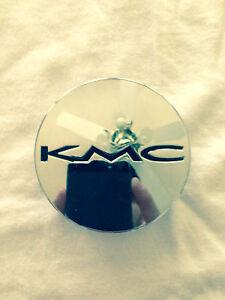 KMC Mini Chrome wheel center cap. 490K57 A1084 SJ708-34