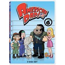 American Dad, Sixth Season Volume 6 (DVD, 2011, 3-Disc Set)