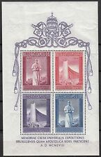 BLOC TIMBRE VATICAN NEUF N° 2 EXPOSITION DE BRUXELLES 1958 COTE 40 EUROS