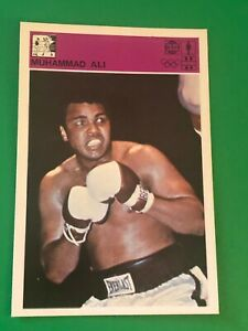 MUHAMMAD ALI RARE CARD BOXING EXCELLENT VINTAGE CASSIUS CLAY 1980 SVIJET SPORTA