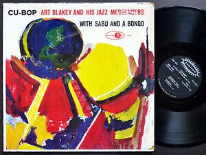 ART BLAKEY SABU Cu-Bop LP JUBILEE JGM 1049 US 1959 MONO JAZZ Johnny Griffin