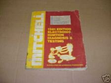 ELECTRONIC IGNITION DIAGNOSIS AND TESTING MITCHELL MANUAL