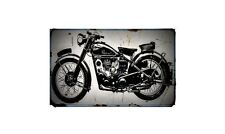1952 mac Bike Motorcycle A4 Retro Metal Sign Aluminium