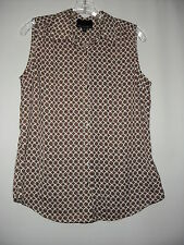 Cynthia Rowley New Multicolor 100%Polyester Sleeveless Top M