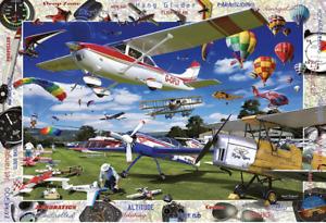 BNIB! Ravensburger 19840 - 1000pc Premium Jigsaw Puzzle - Take To The Skies