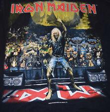 IRON MAIDEN t-shirt BRAVE NEW WORLD tour L 2000 VINTAGE RARE Dates