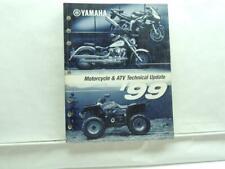 1999 Yamaha Motorcycle & Atv Technical Update Manual Book B6296