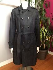 G-STAR RAW Denim Women's Trench Jeans Long Jacket / Coat MEDIUM Value: $500