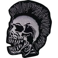 Skull Iron Sew On Patch Jeans Jacket Shirt Embroidered Badge Embroidery Applique