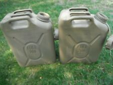 2 USA Supply Core / Scepter Jerry Cans Military JEEP Fuel Storage Container MFC