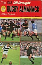 Rugby Almanack of New Zealand 1985 Rugby Union Book: Review of All Blacks Season