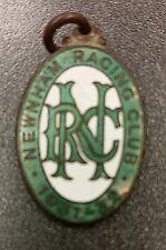 Newnham Racing Club Enamel Badge • 1931-32