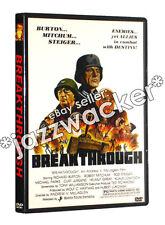 Breakthrough DVD (1981) Richard Burton Rod Steiger Robert Mitchum
