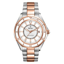 Bulova Precisionist Women's 98M113 Winter Park Quartz Two-Tone 36mm Watch