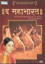 THE MAHABHARATA (IN HINDI) BY PETTER BROOK - NEW BOLLYWOOD DVD