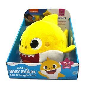 WowWee Pinkfong Baby Shark Official Baby Shark Sing And Snuggle Plush Brand New