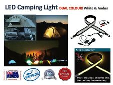 LED FLEXIBLE CAMPING LIGHT DUAL COLOUR   Awning, Camper Trailer , Tent