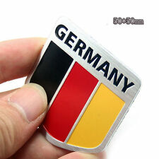 Britain/Italy/France/Germany Flag Logo Metal Car Motorcycle Sticker Tail Emblem