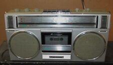 Vintage PANASONIC RX 4955 AM-FM-Cassette Radio/Boombox/Ghettoblaster J654