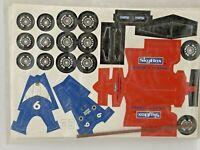 Vintage 1995 SkyBox Indy 500 Promocore  Car Cut-out Kit