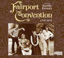FAIRPORT CONVENTION w SANDY DENNY New Sealed 2018 LIVE 1974 CONCERT CD