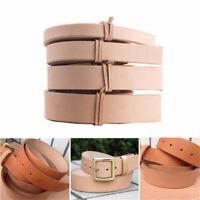 Leather Belt Strap Natural Veg Tan Shelves Handles Craft Cow Hide 110-125cm