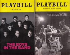 8 Broadway &off-B play Playbills Boys in Band Iceman Cometh Harry Clarke Sweeney