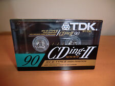 TDK cding-II 90-from 1991-New/nuevo sealed! rara vez! made in Japan!!!