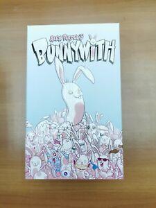 """Mighty Jaxx Bunnywith By Alex Pardee 8"""" Figure"""