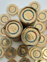 2020 ICC Women's T20 World Cup Cricket Coloured $2 Coin -UNC in Roll
