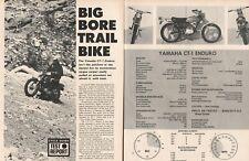 1969 Yamaha 175 CT-1 Enduro Motorcycle Road Test - 5-Page Vintage Article