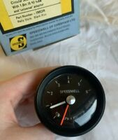 SPEEDWELL OIL pressure gauge NOS  FULL SCALE -  RARE NEW!