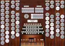 Virtual pipe organ for Hauptwerk Schantz 46 rank  3 manuals
