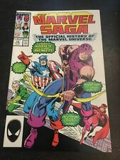 Marvel Saga:Official History Of The Marvel Universe#19(9.4)(1987)
