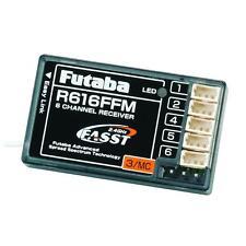 Futaba R616FFM 6-Channel Micro FASST Park Flyer Rx