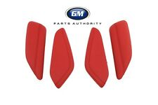 2016-2018 Chevrolet Camaro Knee Pad Interior Trim Kit 84095812 Red Genuine OEM
