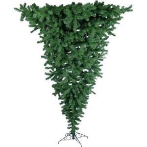 Upside Down Two-Tone Christmas Tree