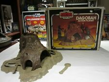 1981 Kenner Star Wars ESB Dagobah Action Playset w/Canadian Box Incomplete